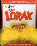 Dr Seuss the Lorax - Gwp W/Mustache [Blu-ray]