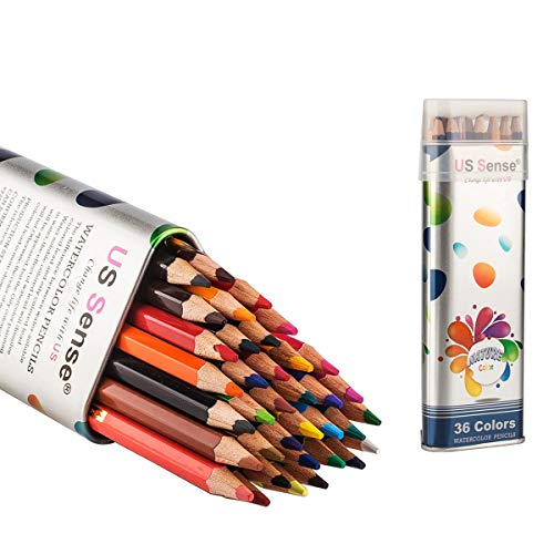 (47% OFF Coupon) 36 Watercolor Pencil Set $8.99