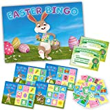EASTER BINGO – Fun Easter Party Game – Play with family, kids, school children over the Easter Holidays – Up to 20 Players