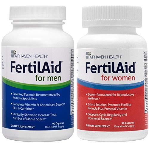 Fertilaid for Men and FertilAid for Women Combo (2 Month Supply)