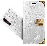 WenTian Realme X50 Pro Handy Tasche, HülleExpert® Wallet Hülle Cover Flower Bling Diamond Hüllen Etui Hülle Ledertasche Lederhülle Schutzhülle Für Realme X50 Pro