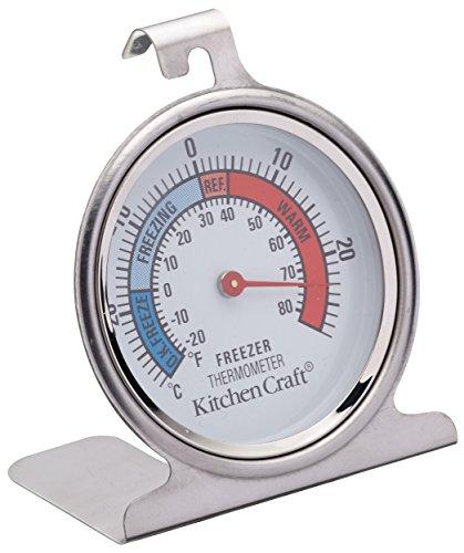 Kitchen Craft KCFRIDGETH - Termómetro para frigorífico (Acero Inoxidable)