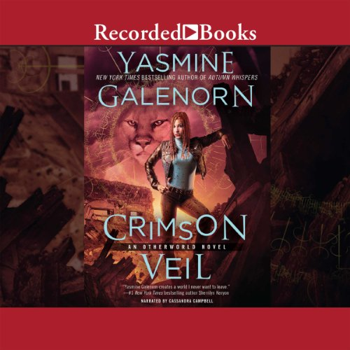 Crimson Veil audiobook cover art