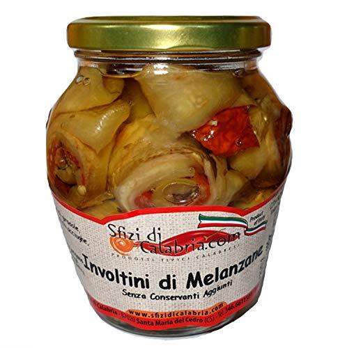 Involtini di Melanzane Sottolio con pomodori secchi, olive,...