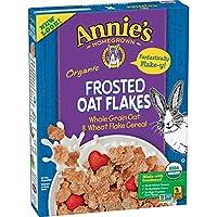 Annie's Homegrown アニーのオーガニック穀物、フロストオート麦フレーク、全粒穀物、10.8オンス