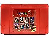 340 in 1 N64 Multicart Video Game Cartridge Nintendo 64 - NEW VERSION