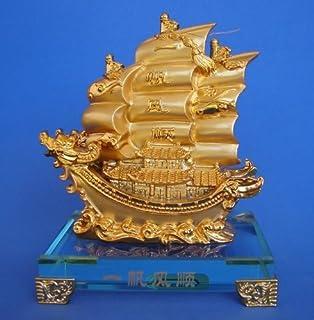 Dragón barco de vela transporte riqueza