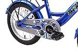 BIKESTAR Kinderfahrrad für Mädchen und Jungen ab 4-5 Jahre   16 Zoll Kinderrad Classic   Fahrrad für Kinder Silber & Blau   Risikofrei Testen - 6