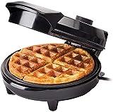 Fabricante de waffle Máquina de hierro 1200W i Electric i Molde I Acero inoxidable I Recubrimiento antiadherente I Recítices I Placas de cocción profunda I Control de temperatura ajustable - Negro