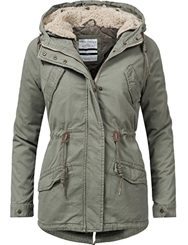 Urban Surface damesjas 2in1 winterjas katoenen jas 44363 6 kleuren XS-XL