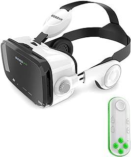 XGVRYG Auriculares VR 3D Gafas VR 360 ° Visualización de Auriculares de Realidad Virtual inmersivos para películas en 3D V...