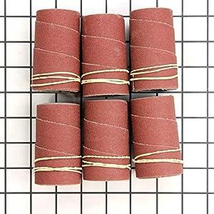 6-Pack DELTA 31-811 3-Inch 80 Grit Sanding Sleeves for 31-780 Spindle Sander