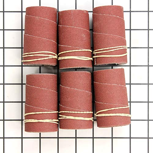 Jet 60-1080 Ready-to-Wrap Sandpaper, 80-Grit (6-Pack)