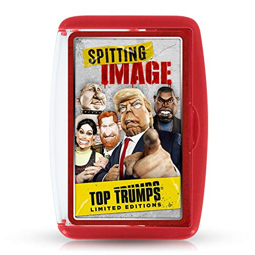 Spitting Image WM01303-EN1-6 Top Trumps Limited Editions Kartenspiel