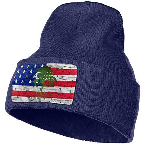 AEMAPE Sombrero de Punto Unisex Gorro de Calavera de Moda Sombreros de Tejer - Raíces de Uzbekistán