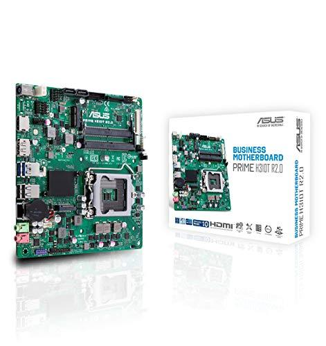 ASUS Prime H310T R2.0 - Placa Base Thin Mini-ITX Intel de 8a y 9a Gen. LGA1151 con Funciones de Seguridad y fiabilidad, DDR4 2666MHz, HDMI, M2, Conector COM y TPM de 14-1 contactos