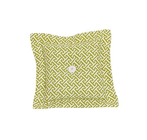 Cotton Tale Designs Decor Philadelphia Mall Lattice Pillow Spring new work one after another Green Periwinkle