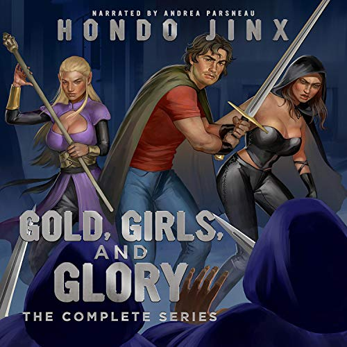 Gold, Girls, and Glory: The Complete Series cover art