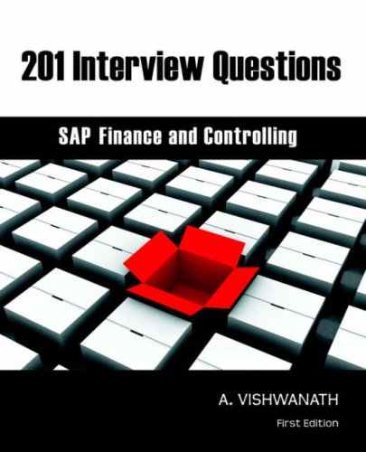 201 Interview Questions - SAP Finance and Controlling