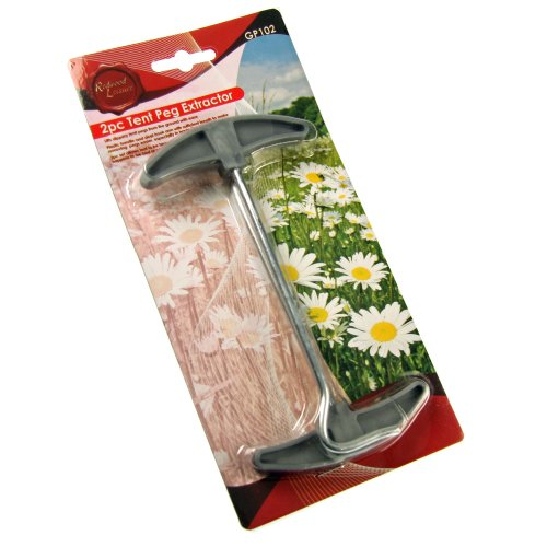 2pc Tent Peg Extractor