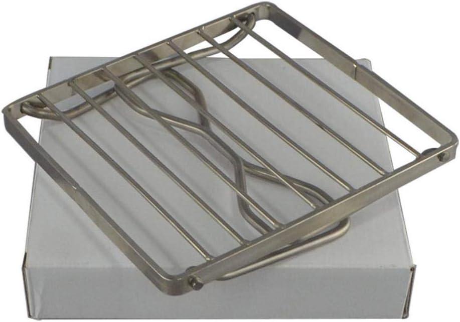 ZLEW Barbecue Accessoires pour La Maison Portable Barbecue en Acier Inoxydable Barbecue Pliant Mini Pocket Barbecue, 3 pcs 40x50 cm 170x155x95mm