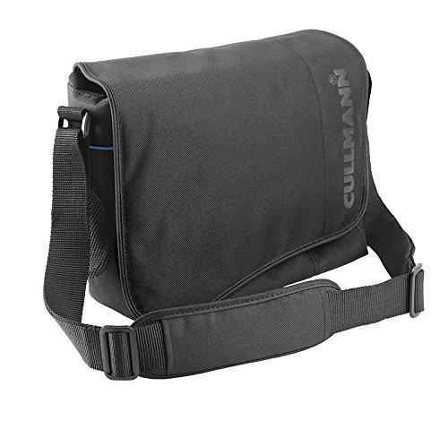 Cullmann Madrid Maxima 330 SLR-Kameratasche (Messenger, für DSLR mit Objektiv, zusätzlichem Objektiv + Blitzgerät, Zubehör) schwarz