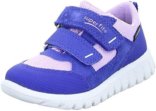 Superfit Mädchen SPORT7 Mini Sneaker, Blau (Blau/Lila 82), 26 EU