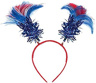 Amscan Patriotic Ponytail Head Bopper, Party Accessory
