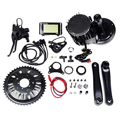 48V 750W / 1000W Ebike Mediados Motor Drive System Mediados Drive Bicicleta eléctrica Cargador Kit de conversión de Ebike Kits Sistema de Motor for MTB Bicicleta de Carretera Plegable City