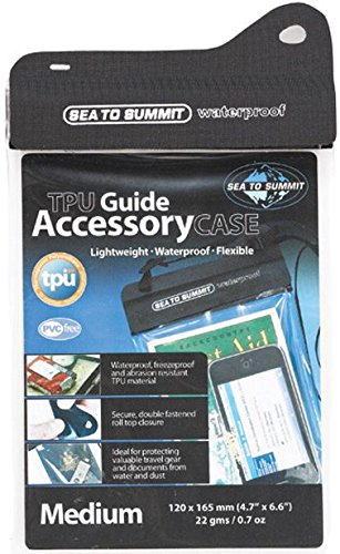 Sea to Summit TPU Guide Waterproof Case - Sacoche Ordinateur - for Small Tablets Noir 2015