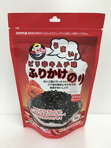 韓国のりジャパン ふりかけのり キムチ味 20g 全形6.6枚分