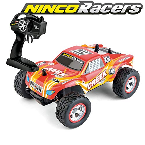 Ninco Racers NincoRacers Creek. Monster Truck. Voiture Télécommandée 2.4GHz Misure: 21 cm x 15 cm x 8,5 cm. +6 Ans (NH93129), Multi-Colours, Ninco_NH93129