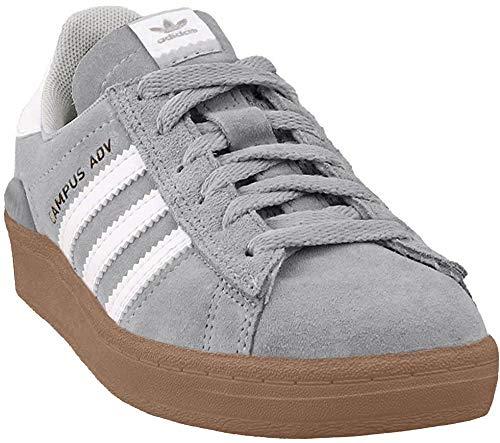 adidas Campus Adv Shoe - Men's Grey One F17/Ftwr White/Gold Metallic, 8.5