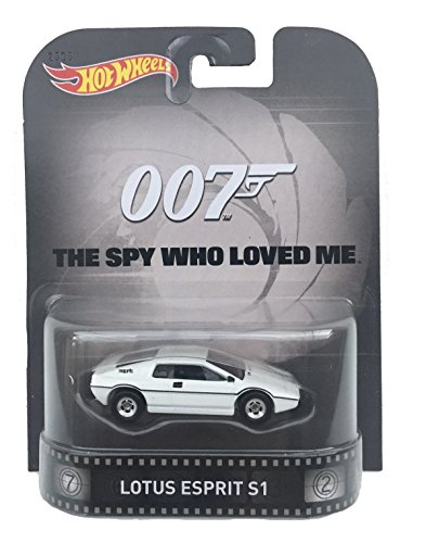 Lotus Esprit S1 James Bond The Spy Who Loved Me 1:64 Hot Wheels CFR26 Retro Entertainment