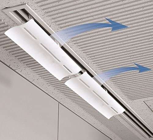 Air conditioner deflector for window units _image3