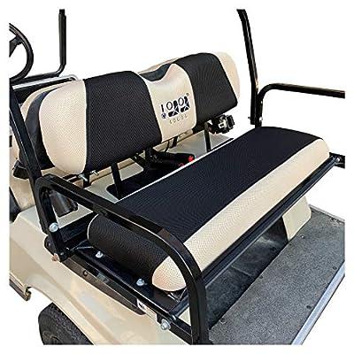 10L0L Universelles Golfwagen-Rücksitzbezug-Set passend