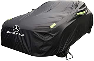 GCM Mercedes - Mercedes - Mercedes-Benz GCL63 AMG Car Cover Universal Thickening Sunscreen Rain-Proof UV Anti-flameable Jacket Jackets Protective Clothing (Color : Oxford Cloth Single Layer)