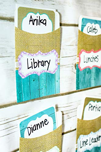 Teacher Created Resources Shabby Chic Nametags/Labels (77195), 2.88 x 3.5 Inches Photo #6