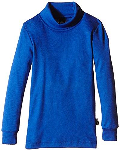 Trigema Fille Pull col roulé à Manches Longues de Ski/, Taille 140, Bleu Royal (049)