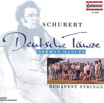 Schubert, F.: 5 German Dances / 5 Minuets and 6 Trios / 3 Kleine Stucke