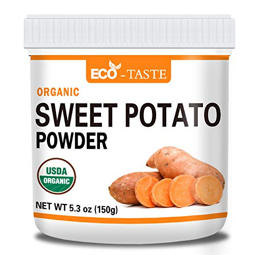 Premium Sweet Potato Powder, 5.3oz, 100% Pure, No Gmo, No Fillers, Vegan Friendly