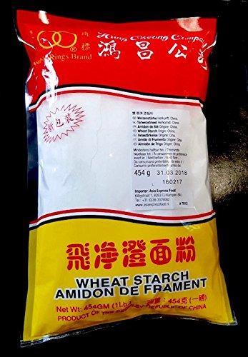 Wheat Starch, Weizenstärke 454g