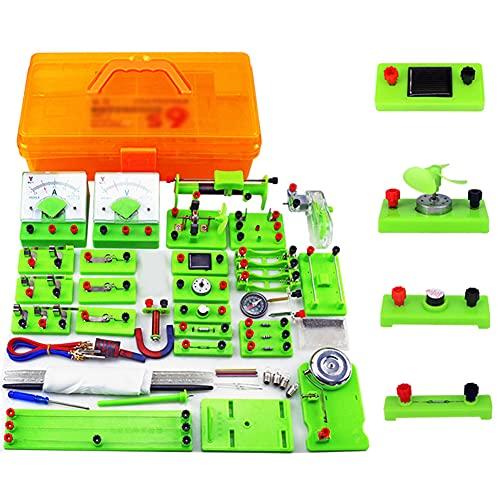 Sntieecr Kit De Circuito Eléctrico De Física Stem, Laboratorio Electricidad Kit Electrico...