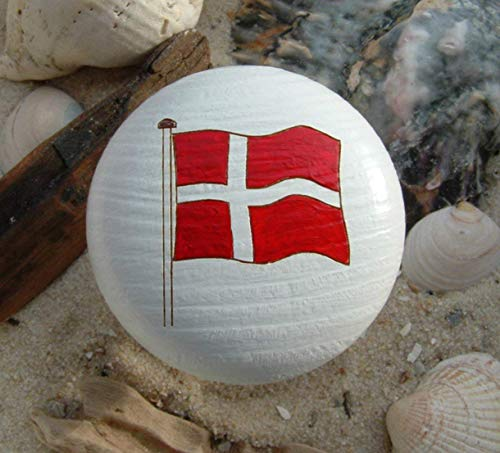 Möbelknopf Danmark dänische Flagge Dannebrog