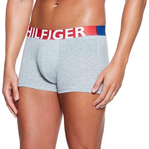 Tommy Hilfiger Herren Trunk Boxershorts, Grau (Grey Heather BC05 004), X-Large