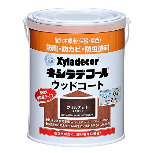 大阪ガスケミカル 水性XDウッドコートS 0.7L ウォルナット