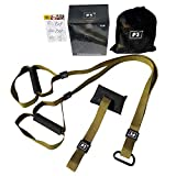 CXLT Adjustable Suspension Tension Belt Resistance Bands Safety Suspended Training Belt Tensioner Tension Rope Yoga Fitness Equipment Exercise Band,Pink-Set2