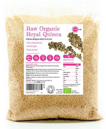 PINK SUN Quinoa Real Orgánica 3kg...