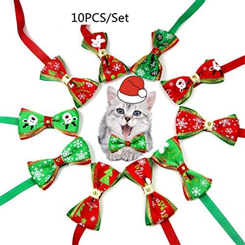 Collares Perros Mascotas Moda E Collar para Mascotas Navidad Perro Pajaritas Suministros para Mascotas Cinta Hecha A Mano Multicolor Gato Corbata Accesorios para Perros
