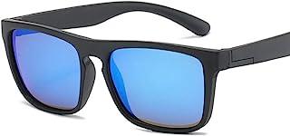 QPRER - Gafas De Sol,Azul Cielo Rectángulo Silicona Clásico Niña IR De Compras Calle Gafas De Sol Verano Niños Diario Al Aire Libre Gafas Niño Seaside Party UV Cumpleaños Regalo del Día del Niño